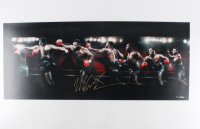 "Mike Tyson Signed ""Round House"" 15x36 Limited Edition Photo (UDA COA)"