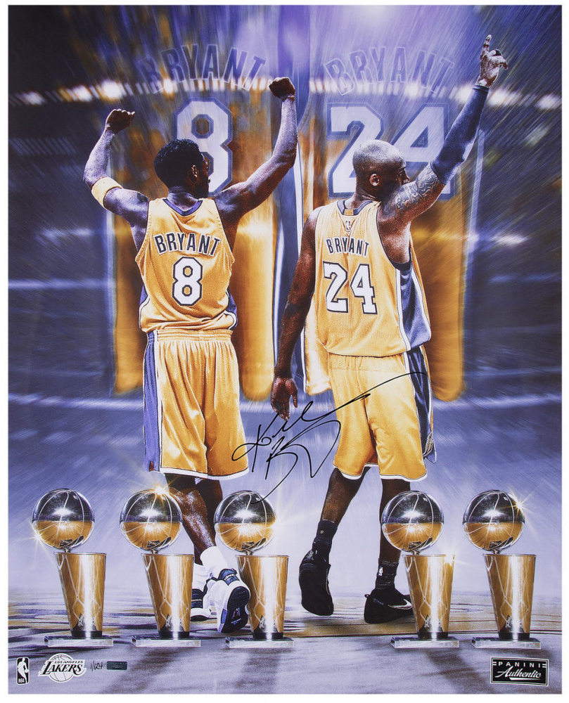 d85a6b871fe Kobe Bryant Signed Lakers