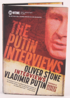"""Oliver Stone Signed """"The Putin Interviews"""" Hard Cover Book (Premier Collectibles COA)"""