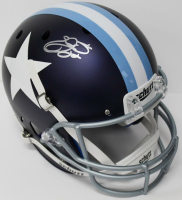 Emmitt Smith Signed Cowboys Full-Size Custom Matte Helmet (JSA COA) at PristineAuction.com