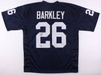 "Saquon Barkley Signed Inscribed ""We Are!"" Penn State Nittany Lions Home Jersey (JSA COA)"