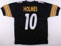 "Santonio Holmes Signed Steelers Jersey Inscribed ""SB XLIII MVP"" (TSE COA) at PristineAuction.com"