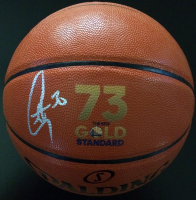 Stephen Curry Signed Gold Standard Basketball (Fanatics Hologram) at PristineAuction.com