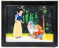 "Walt Disney ""Snow White"" 13x16 Custom Framed Limited Edition Serigraph Cel"