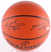 "Kobe Bryant Signed LE NBA Official Game Ball Series Basketball Inscribed ""Mamba Out"" (Panini COA) at PristineAuction.com"