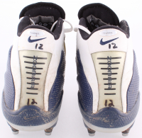 Tom Brady Signed Pair of 2003 Game-Used Nike Football Shoes (Patriots COA & TriStar Hologram) at PristineAuction.com