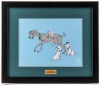 "Walt Disney ""101 Dalmatians"" 16x19 Custom Framed Serigraph Cel"