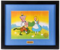 "Walt Disney ""Alice in Wonderland"" 16x19 Custom Framed Limited Edition Serigraph Cel"