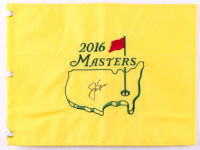 Jack Nicklaus Signed 2016 Masters Tournament Golf Pin Flag (JSA ALOA)