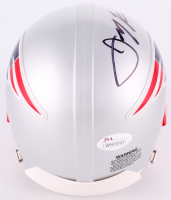 Julian Edelman Signed Patriots Mini Helmet (JSA COA) at PristineAuction.com