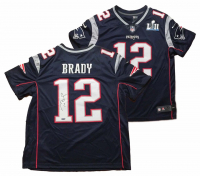 Tom Brady Signed Patriots Limited Edition Jersey with Super Bowl LII Patch (TriStar)