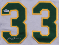 Jose Canseco Signed Athletics Jersey (Beckett COA) at PristineAuction.com