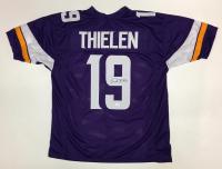 Adam Thielen Signed Vikings Jersey (TSE COA)