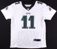 "Carson Wentz Signed Eagles Jersey Inscribed ""A01"" (PSA) at PristineAuction.com"
