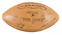 "1963 Packers ""The Duke"" Official NFL Game Ball Team-Signed by (45) WIth Bart Starr, Vince Lombardi, Henry Jordan, Jim Ringo, Herb Adderley, Willie Wood (PSA LOA)"