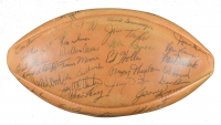 """1963 Packers """"The Duke"""" Official NFL Game Ball Team-Signed by (45) WIth Bart Starr, Vince Lombardi, Henry Jordan, Jim Ringo, Herb Adderley, Willie Wood (PSA LOA)"""