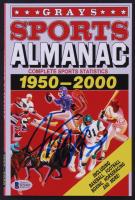 "Michael J. Fox Signed ""Back to the Future Part II"" Grays Sports Almanac Paperback Book (JSA COA)"
