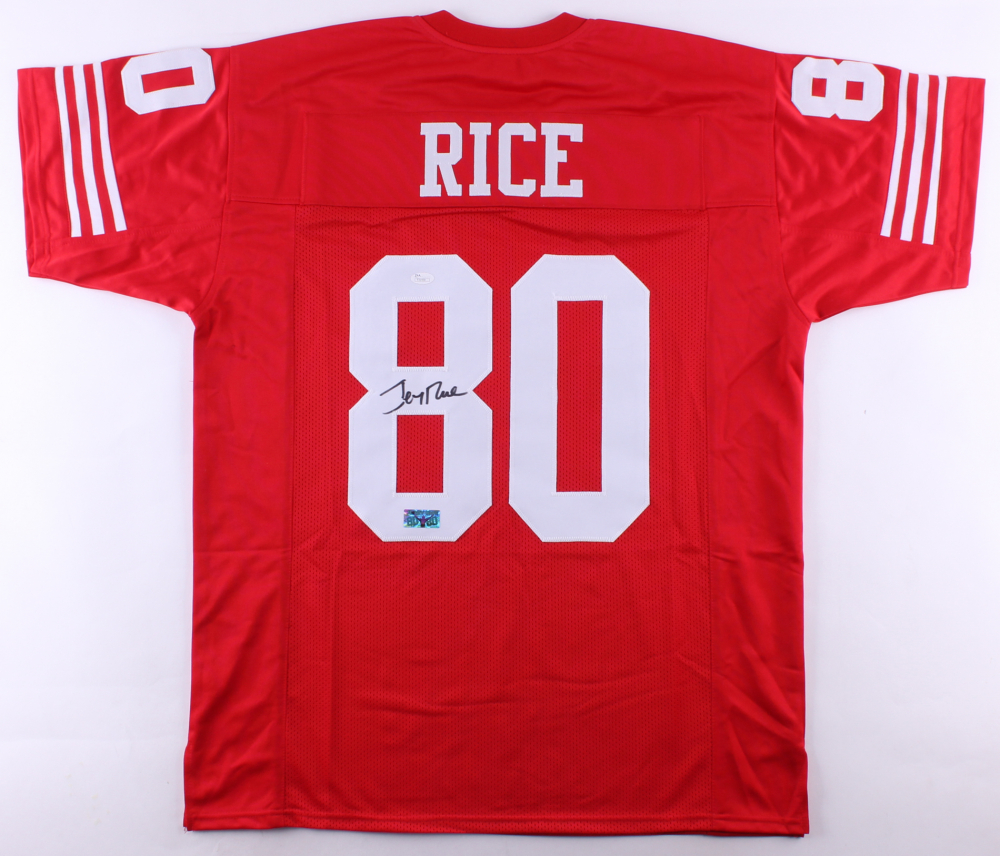 Jerry Rice Signed 49ers Jersey (JSA COA & Rice Hologram) at PristineAuction.com