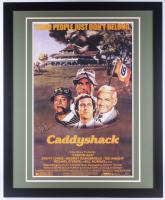 "Chevy Chase Signed ""Caddyshack"" 35x43 Custom Framed Movie Poster (Steiner Hologram)"