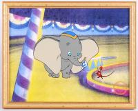 """Walt Disney's """"Dumbo"""" LE 12x15 Custom Framed Animation Serigraph Cel"""