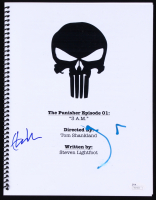 "Jon Bernthal & Ebon Moss-Bachrach Signed ""The Punisher Episode 01: 3 AM"" Full Episode Script (JSA COA)"