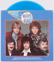 """The Moody Blues """"The Other Side of Life"""" Limited Edition Vinyl Record Album Signed by (4) with John Lodge, Justin Hayward, Graeme Edge & Ray Thomas (JSA ALOA) at PristineAuction.com"""