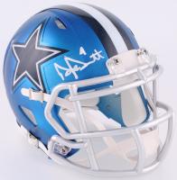 Dak Prescott Signed Cowboys Blaze Speed Mini Helmet (JSA COA & Prescott Hologram) at PristineAuction.com
