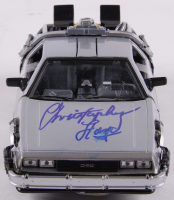 """Christopher Lloyd Signed """"Back to the Future"""" 1/24th DeLorean Time Machine Diecast Car (PSA COA) at PristineAuction.com"""