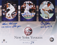 New York Yankees 1978 World Series Champions 11x14 Photo Signed by Goose Gossage, Ron Guidry & Graig Nettles with (3) Inscriptions (JSA COA) at PristineAuction.com
