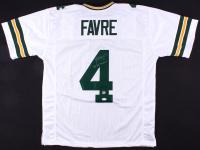"""Brett Favre Signed Packers Jersey Inscribed """"'95, '96, '97 MVP"""" (JSA COA & Favre COA)"""