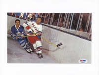 Doug Harvey Signed Rangers 5.5x9.25 Photo (PSA COA) at PristineAuction.com