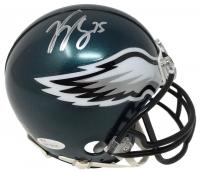Vinny Curry Signed Eagles Full-Size Helmet (JSA COA)