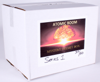 """Atomic Boom"" Mystery Box - Autographed Football Full-Size Helmet Edition Series 1"