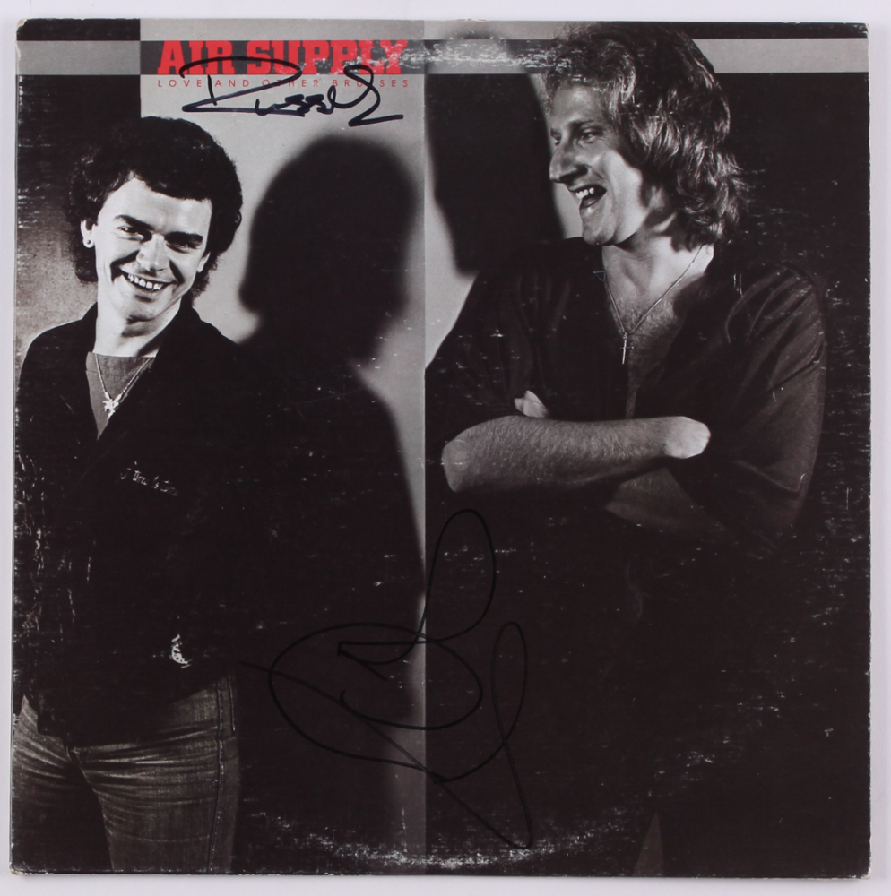 Air Supply Quot Love And Other Bruises Quot Vinyl Record Album