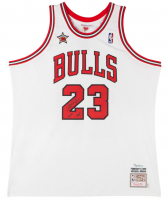 "Michael Jordan Signed Limited Edition Bulls 1998 NBA All Star Authentic Mitchell & Ness Jersey Inscribed ""2009 HOF"" (UDA COA)"