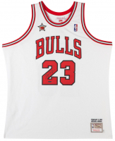 Michael Jordan Signed Bulls 1998 NBA All Star Authentic Mitchell & Ness Jerey (UDA COA)
