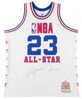 Michael Jordan Signed 1985 NBA All Star Authentic Mitchell & Ness Jersey (UDA COA)