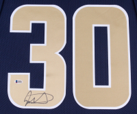 Todd Gurley Signed Rams 35x43 Custom Framed Jersey (Beckett COA) at PristineAuction.com