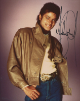 Michael Jackson Signed 8x10 Photo (PSA LOA)