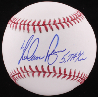 "Nolan Ryan Signed OML Baseball Inscribed ""5,714 K's"" (SOP Hologram & Ryan Hologram)"