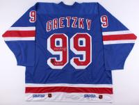 "Wayne Gretzky Signed LE Rangers Jersey Inscribed ""4/18/99"" (Gretzky COA)"