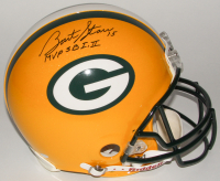 "Bart Starr Signed Packers Full-Size Authentic On-Field Helmet Inscribed ""MVP SB I, II"" (Steiner COA)"