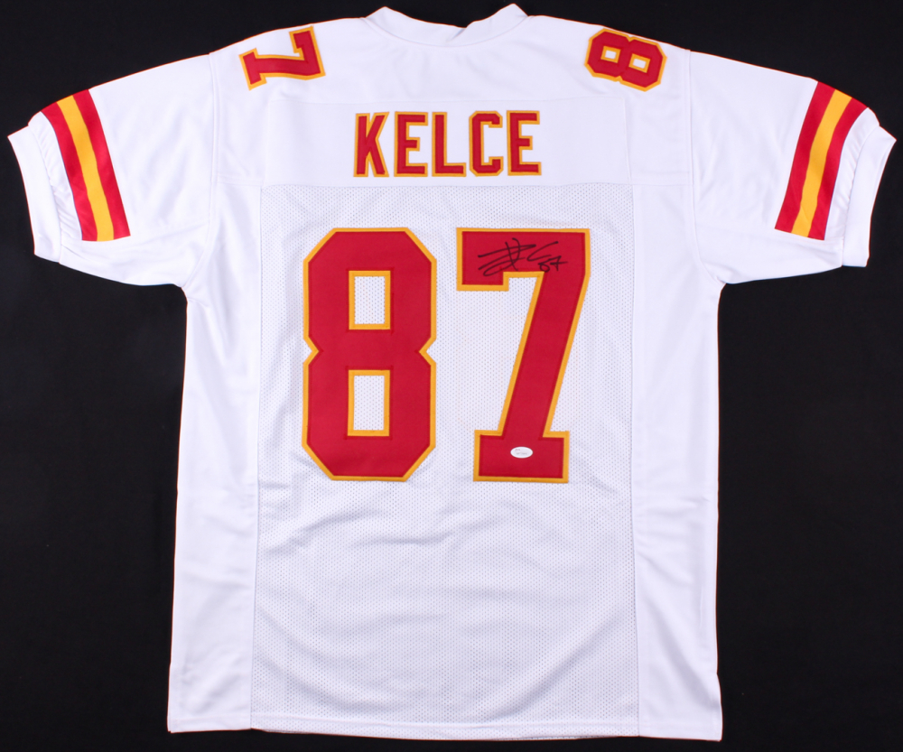 bb854d52b Travis Kelce Signed Chiefs Jersey (JSA COA) at PristineAuction.com
