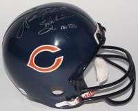 Walter Payton Signed Bears Full-Size Helmet with (6) Career Highlight Stat Inscriptions (JSA ALOA)