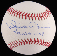 "Mariano Rivera Signed OML Baseball Inscribed ""99 W.S MVP"" (JSA COA) at PristineAuction.com"