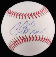 "Craig Biggio Signed OML Baseball Inscribed ""HOF 15"" (TriStar Hologram) at PristineAuction.com"