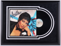 "Aretha Franklin Signed ""Jump To It"" 21x28 Custom Framed Vinyl Record Display Inscribed ""Ms. Franklin 2003"" (PSA LOA)"