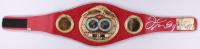 Floyd Mayweather Jr. Signed IBF World Champion Boxing Belt (Beckett COA)
