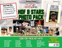 HOF & Superstars Baseball Photo Mystery Pack - (5) Signed Photos per Pack!