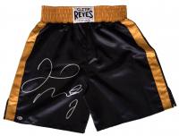 Floyd Mayweather Jr. Signed Cleto Reyes Boxing Trunks (Beckett COA)